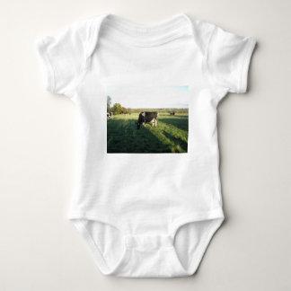 Cheshire Cattle Baby Bodysuit