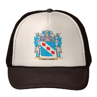 Cheshire Coat of Arms - Family Crest Mesh Hat