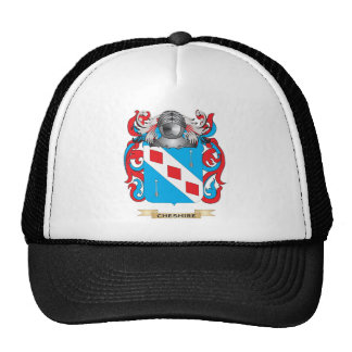 Cheshire Coat of Arms Mesh Hats