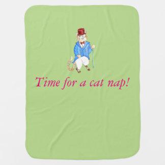 Cheshire Grin Blanket Baby Blanket