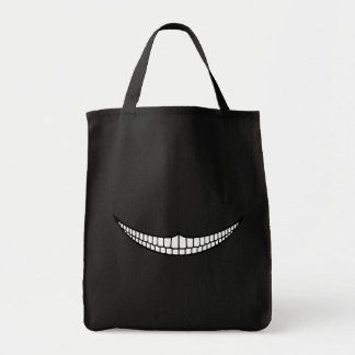 Cheshire Grin Canvas Bag