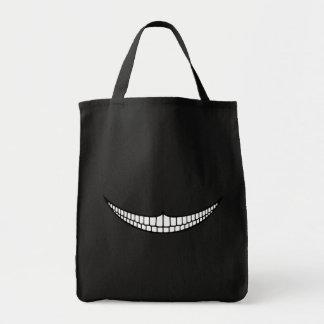 Cheshire Grin Canvas Bag