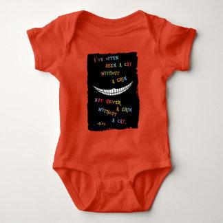 Cheshire Grin IV Baby Bodysuit