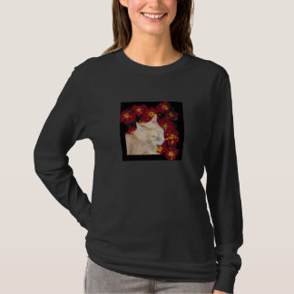 Cheshire Kitten in Marigolds T-Shirt