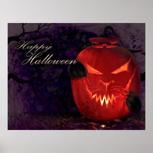 Cheshire Pumpkin Posters