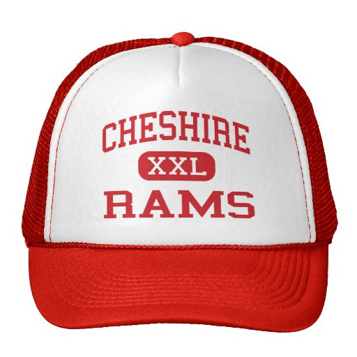 Cheshire - Rams - High - Cheshire Connecticut Trucker Hats