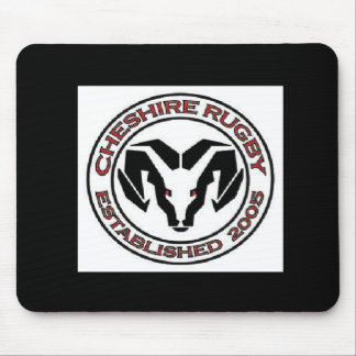 Cheshire Rugby Club Mouse Pad