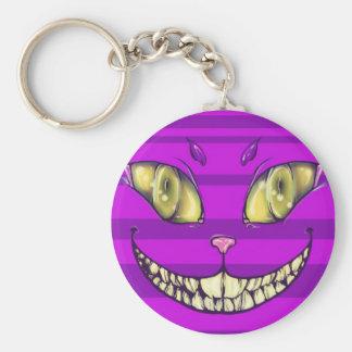 cheshire Smile Key Ring