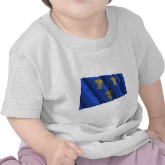 Cheshire Waving Flag T Shirt