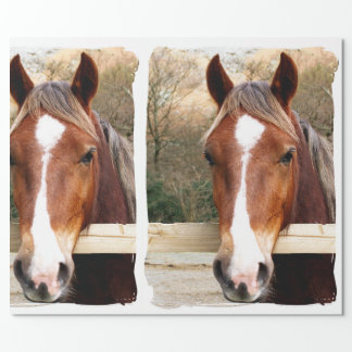 CHESNUT HORSE WRAPPING PAPER