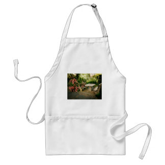 Chess and Roses Adult Apron