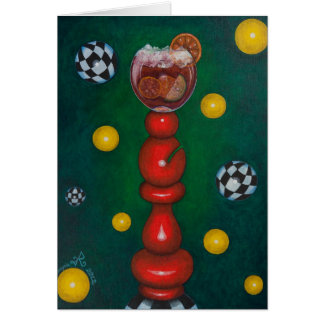 Chess-Bishop Sangria Card