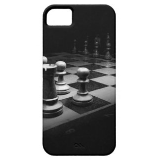 Chess Black White Chess Pieces King Chess Board Case For The iPhone 5