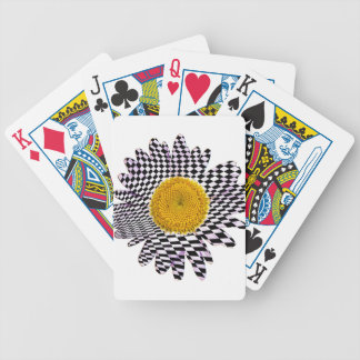 Chess board daisy bicycle playing cards
