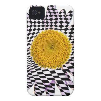 Chess board daisy iPhone 4 case