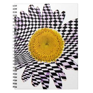 Chess board daisy notebook