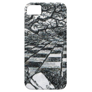 Chess Board in Wonderland Case For The iPhone 5