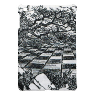 Chess Board in Wonderland iPad Mini Cover