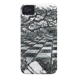 Chess Board in Wonderland iPhone 4 Case-Mate Case