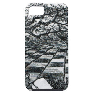 Chess Board in Wonderland iPhone 5 Cover