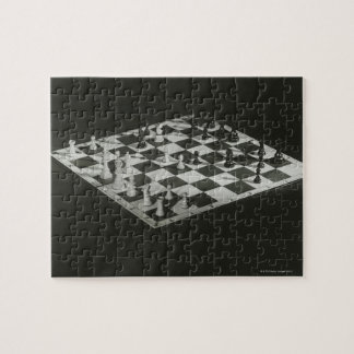 Chess Board Jigsaw Puzzle