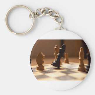 Chess board key ring