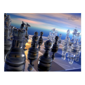 CHESS BOARD POST CARD