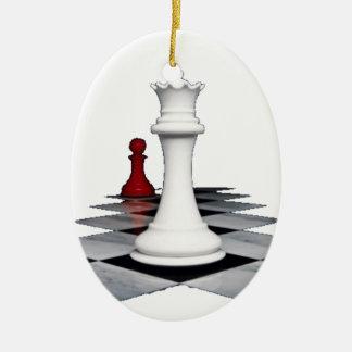 Chess Ceramic Ornament