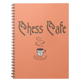 Chess Coffee Notebook