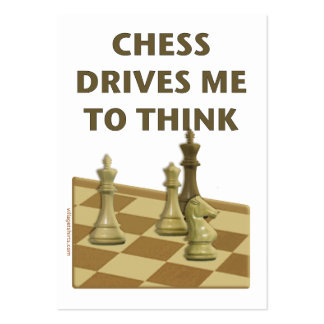 Chess Drives Me Business Cards
