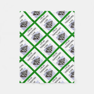CHESS FLEECE BLANKET