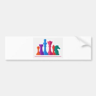Chess Game Bumper Sticker