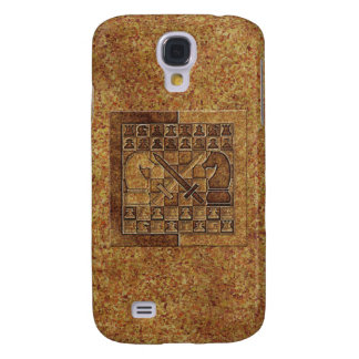 CHESS GAME IN STONE SAMSUNG GALAXY S4 COVERS