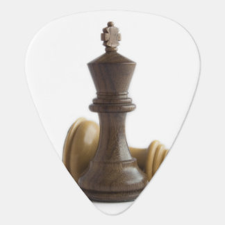 Chess Game Over Guitar Pick