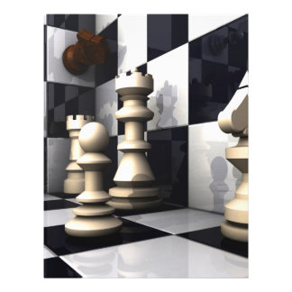 Chess Game Style 21.5 Cm X 28 Cm Flyer