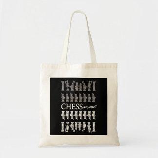 Chess Geek's tote bag. Chess anyone?
