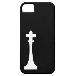Chess King Modern Graphic Monochrome iPhone 5 Case