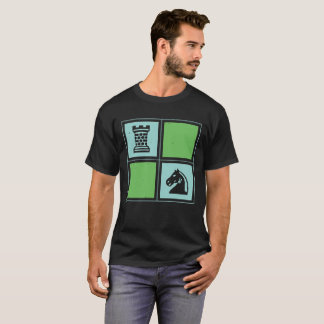 Chess Knight Rook T-Shirt