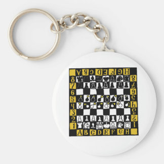 Chess Mine Field Key Ring