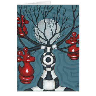 Chess-Nut Tree Card