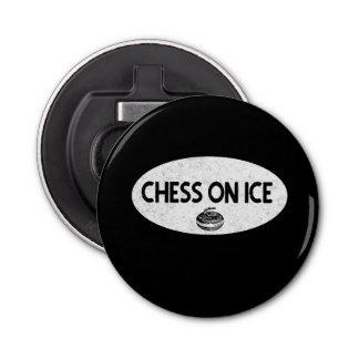 Chess on Ice Bottle Opener/Magnet Bottle Opener