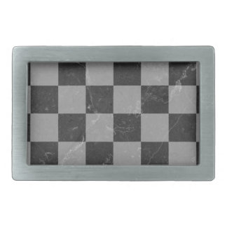 Chess pattern belt buckle