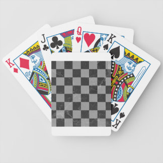 Chess pattern bicycle playing cards