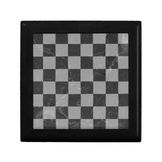Chess pattern gift box