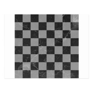 Chess pattern postcard