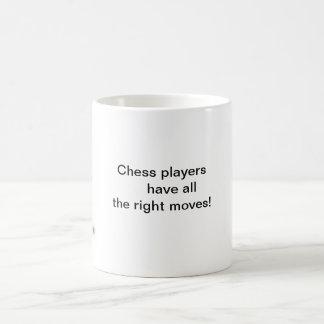 Chess Piece Basic White Mug