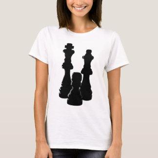 Chess Piece silhouette design T-Shirt