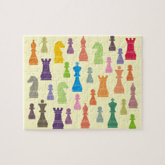 Chess Pieces Jigsaw Puzzle