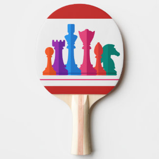chess ping pong paddle
