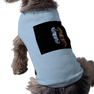 Chess Play Game Sleeveless Dog Shirt